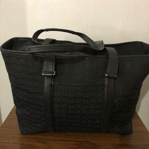 Extra large coach weekender tote bag